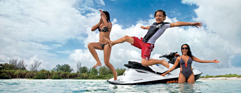 Jet Ski Fun For All Ages Madeira Beach Johns Pass