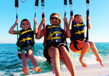 Parasailing for All Ages Madeira Beach johns Pass