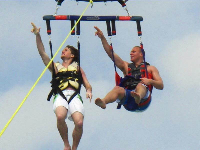 waverunners and parasiling, jet ski rentals